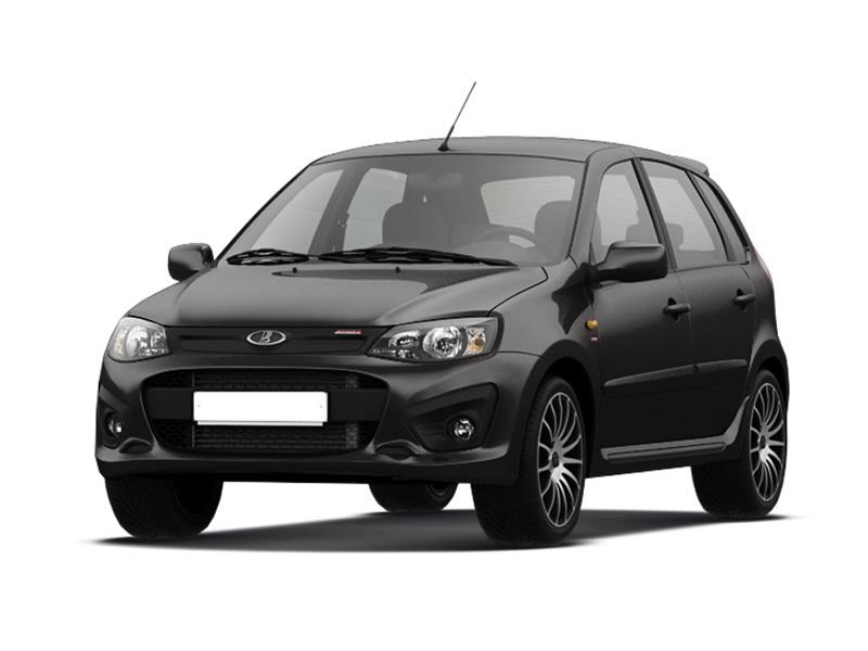 Новый авто ВАЗ (Lada) Kalina, черный , 2016 года выпуска, цена 599 000 руб. в автосалоне  ()