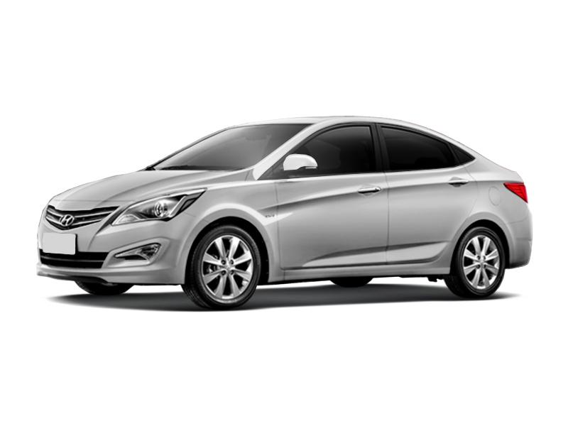 Подержанный Hyundai Solaris, отличное состояние, серебряный металлик, 2015 года выпуска, цена 700 000 руб. в Челябинской области