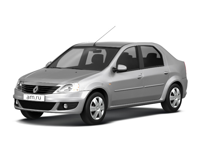 Подержанный Renault Logan, среднее состояние, серебряный металлик, 2011 года выпуска, цена 260 000 руб. в республике Татарстане