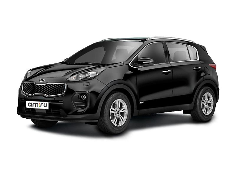 Новый авто Kia Sportage, черный металлик, 2016 года выпуска, цена 1 554 900 руб. в автосалоне  ()