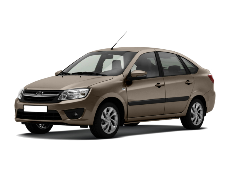 Новый авто ВАЗ (Lada) Granta, коричневый , 2016 года выпуска, цена 404 200 руб. в автосалоне  ()