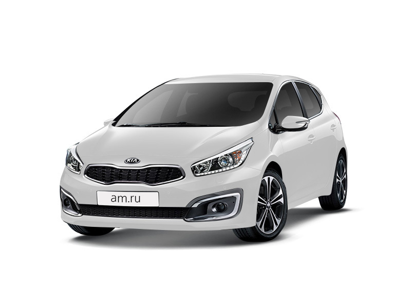 Новый авто Kia Cee'd, белый , 2016 года выпуска, цена 829 900 руб. в автосалоне  ()
