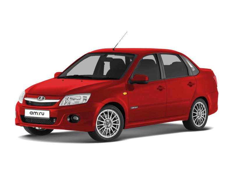 Новый авто ВАЗ (Lada) Granta, красный , 2016 года выпуска, цена 592 000 руб. в автосалоне  ()