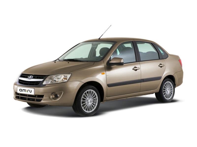 Новый авто ВАЗ (Lada) Granta, коричневый , 2016 года выпуска, цена 441 700 руб. в автосалоне  ()