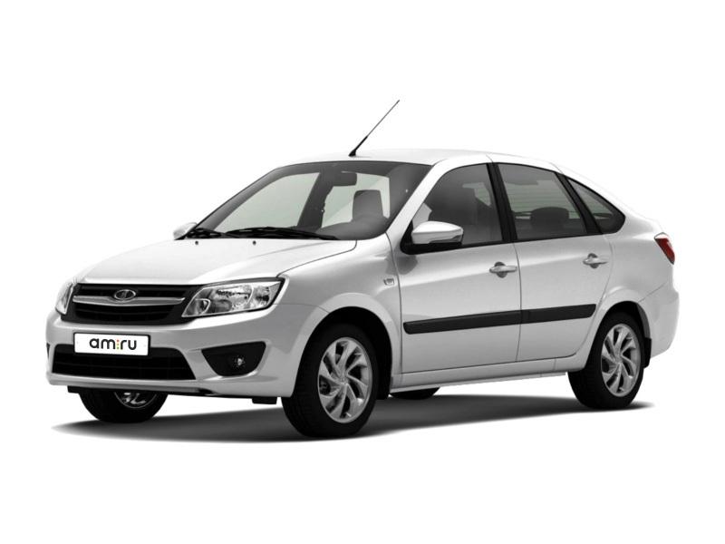 Новый авто ВАЗ (Lada) Granta, белый , 2016 года выпуска, цена 531 400 руб. в автосалоне Бугач-Авто (Красноярск, ул. Калинина, д. 84А)