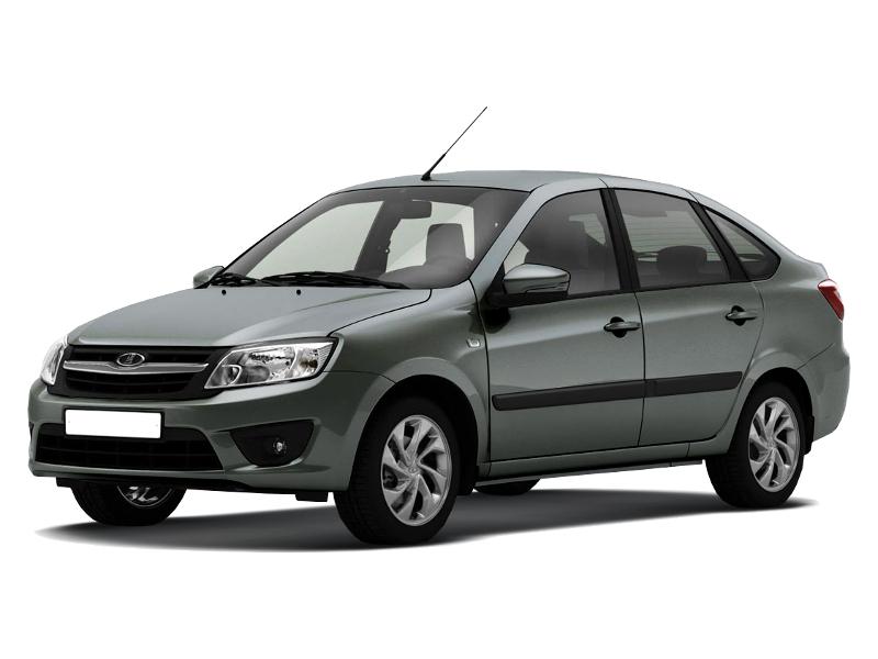 Новый авто ВАЗ (Lada) Granta, серый , 2016 года выпуска, цена 430 600 руб. в автосалоне  ()