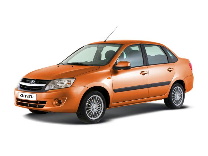 Новый авто ВАЗ (Lada) Granta, оранжевый металлик, 2016 года выпуска, цена 419 600 руб. в автосалоне  ()