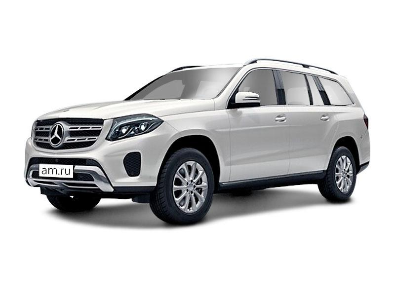 Новый авто Mercedes-Benz GLS-класс, белый , 2016 года выпуска, цена 5 600 000 руб. в автосалоне  ()