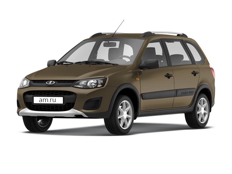 Новый авто ВАЗ (Lada) Kalina, коричневый , 2016 года выпуска, цена 556 600 руб. в автосалоне  ()