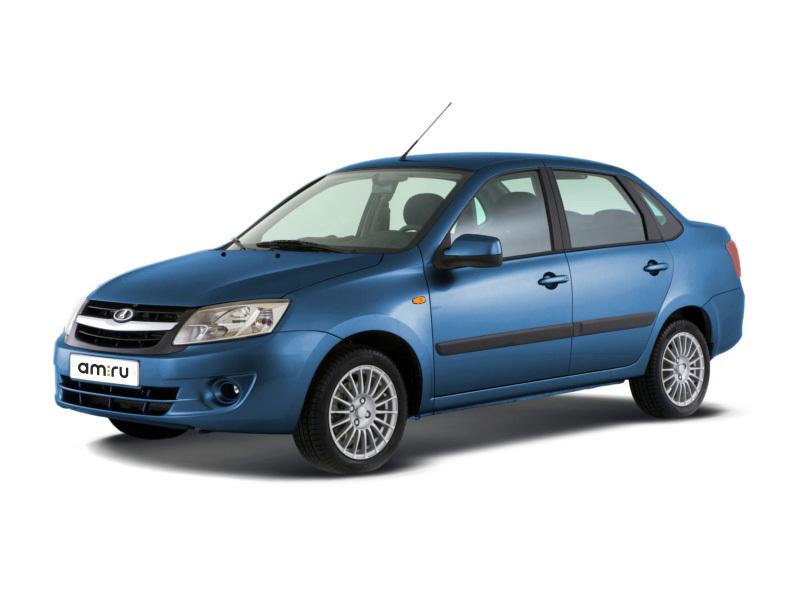 Новый авто ВАЗ (Lada) Granta, синий металлик, 2016 года выпуска, цена 441 700 руб. в автосалоне  ()