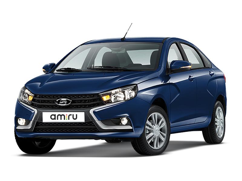 Новый авто ВАЗ (Lada) Vesta, синий , 2016 года выпуска, цена 605 000 руб. в автосалоне  ()