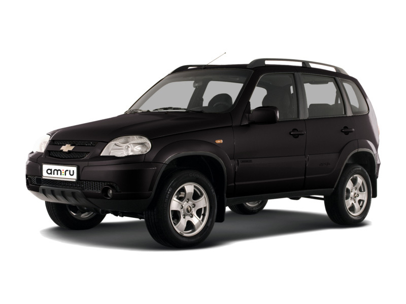 Подержанный Chevrolet Niva, отличное состояние, черный металлик, 2014 года выпуска, цена 423 000 руб. в республике Татарстане
