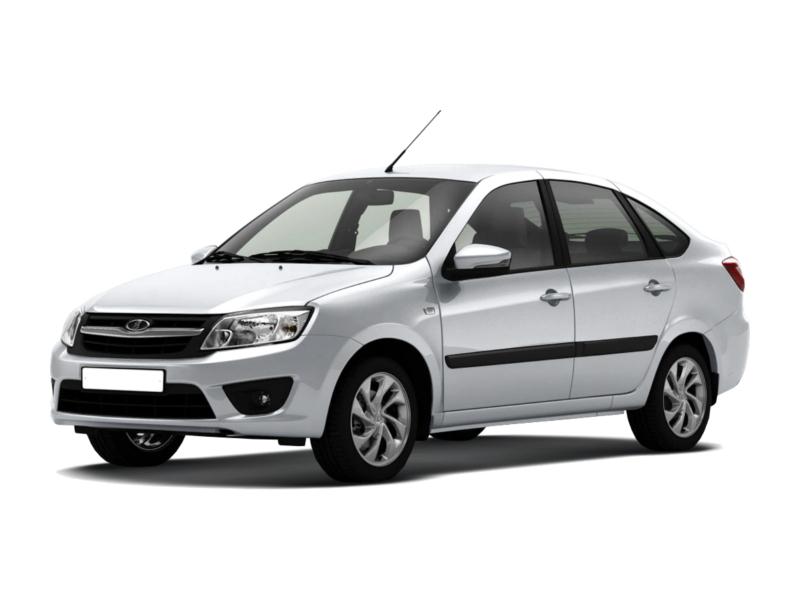 Подержанный ВАЗ (Lada) Granta, отличное состояние, белый , 2012 года выпуска, цена 280 000 руб. в республике Татарстане