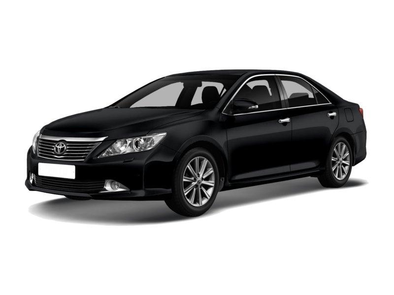 Подержанный Toyota Camry, отличное состояние, черный металлик, 2013 года выпуска, цена 1 250 000 руб. в ао. Ханты-Мансийском Автономном округе - Югре