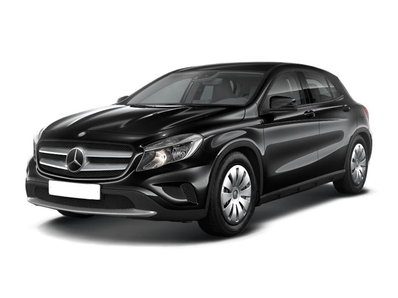 Новый авто Mercedes-Benz GLA-Класс, черный металлик, 2015 года выпуска, цена 1 800 000 руб. в автосалоне УралАвтоХаус Магнитогорск (Магнитогорск, пр-кт Ленина, д. 97, лит. Б)