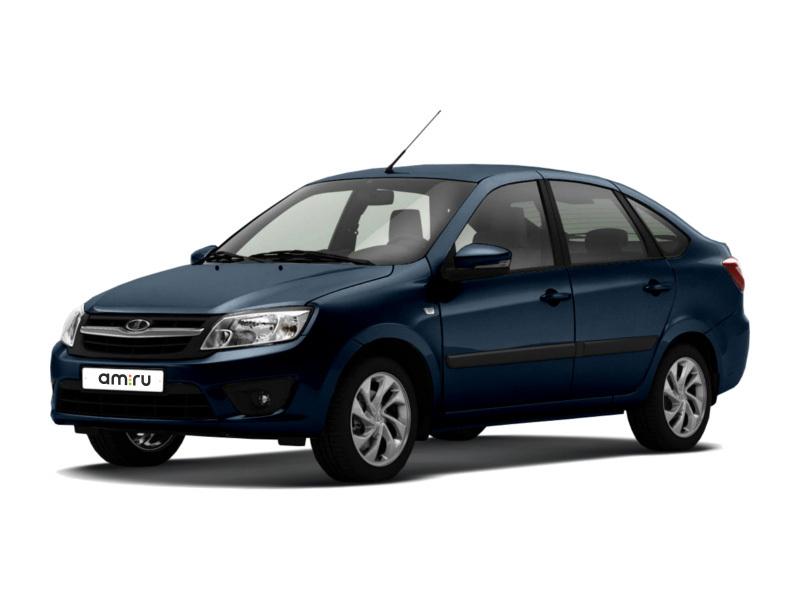 Новый авто ВАЗ (Lada) Granta, синий металлик, 2016 года выпуска, цена 360 600 руб. в автосалоне  ()