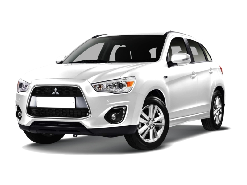Подержанный Mitsubishi ASX, отличное состояние, белый матовый, 2014 года выпуска, цена 720 000 руб. в республике Татарстане