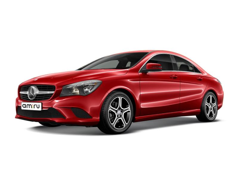Новый авто Mercedes-Benz CLA-Класс, красный , 2015 года выпуска, цена 1 800 000 руб. в автосалоне УралАвтоХаус Магнитогорск (Магнитогорск, пр-кт Ленина, д. 97, лит. Б)