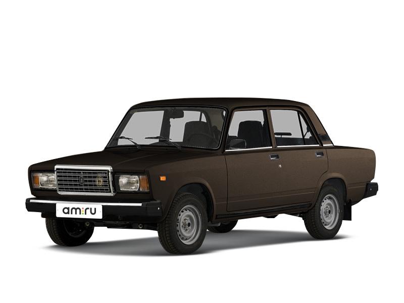 Подержанный ВАЗ (Lada) 2107, среднее состояние, коричневый , 2002 года выпуска, цена 30 000 руб. в ао. Ханты-Мансийском Автономном округе - Югре