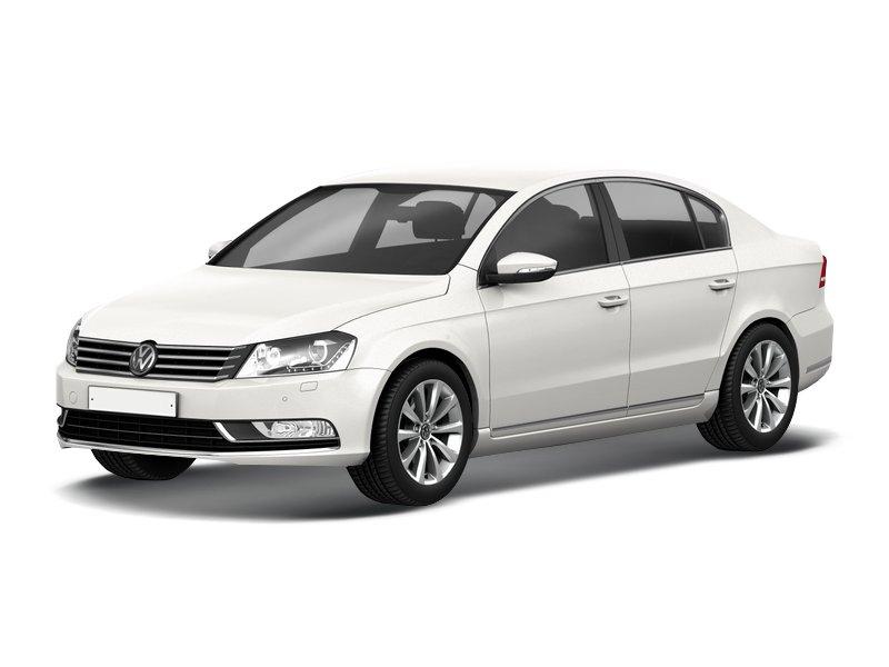 Подержанный Volkswagen Passat, хорошее состояние, белый , 2011 года выпуска, цена 650 000 руб. в Челябинской области