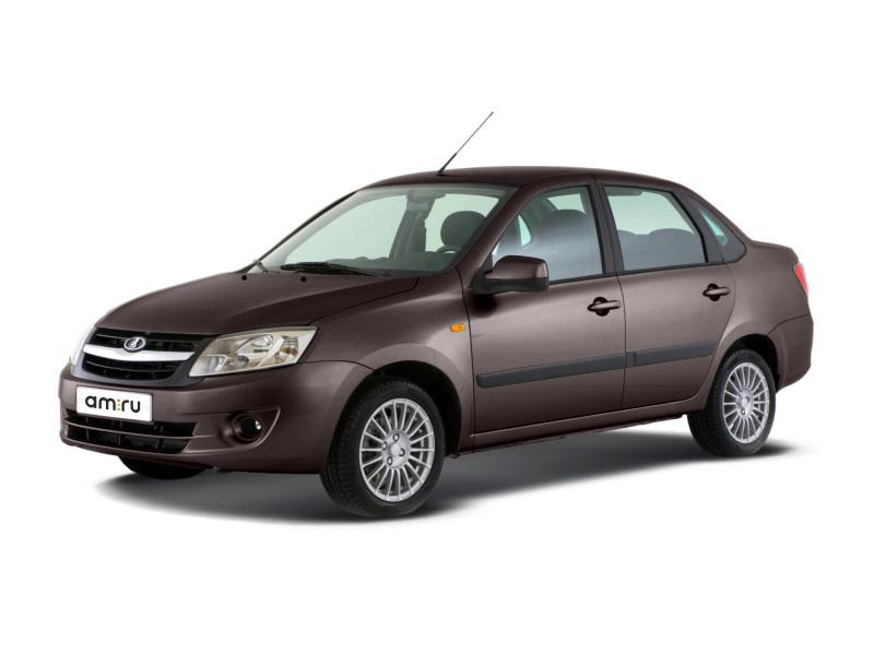 Новый авто ВАЗ (Lada) Granta, коричневый металлик, 2016 года выпуска, цена 339 000 руб. в автосалоне  ()