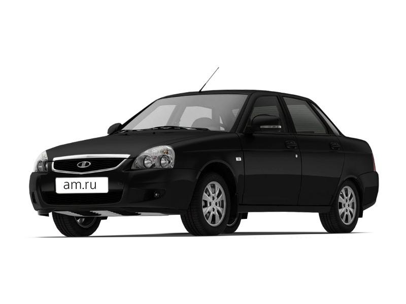 Новый авто ВАЗ (Lada) Priora, черный , 2016 года выпуска, цена 474 000 руб. в автосалоне  ()