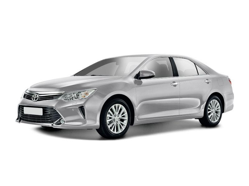 Подержанный Toyota Camry, отличное состояние, серебряный металлик, 2015 года выпуска, цена 1 500 000 руб. в ао. Ханты-Мансийском Автономном округе - Югре