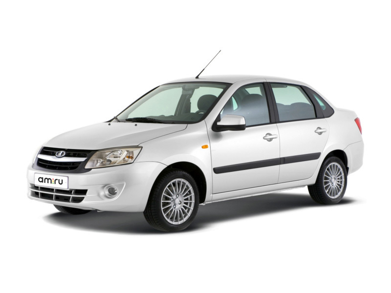 Новый авто ВАЗ (Lada) Granta, белый , 2016 года выпуска, цена 513 400 руб. в автосалоне  ()