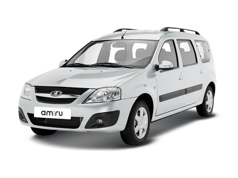 Новый авто ВАЗ (Lada) Largus, белый , 2016 года выпуска, цена 633 700 руб. в автосалоне  ()