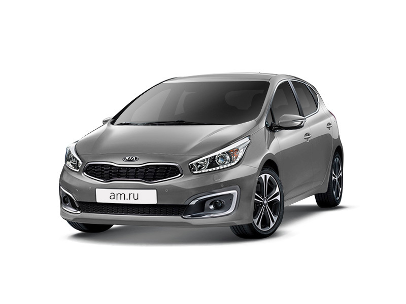 Новый авто Kia Cee'd, серебряный металлик, 2016 года выпуска, цена 934 900 руб. в автосалоне  ()