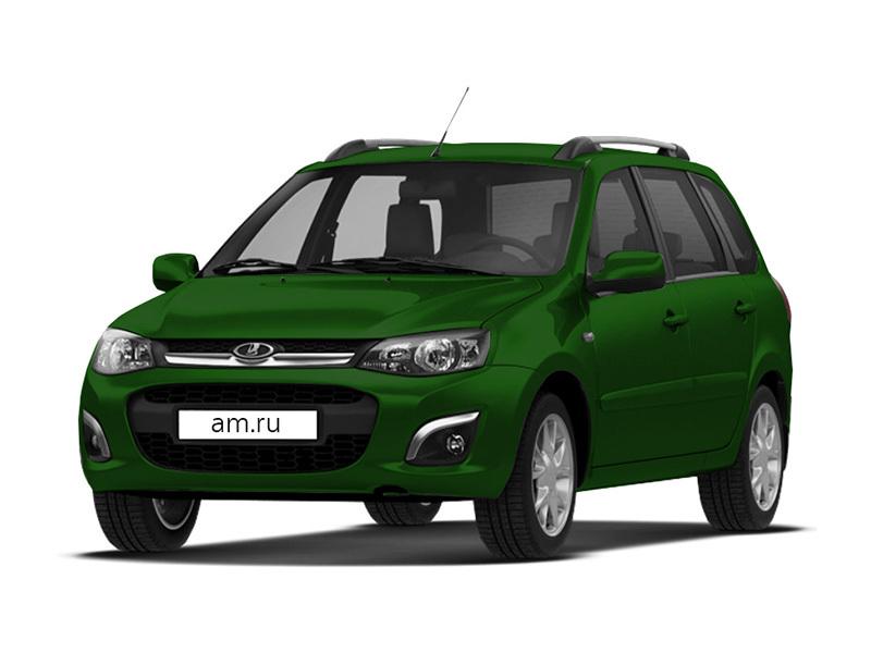 Новый авто ВАЗ (Lada) Kalina, зеленый , 2016 года выпуска, цена 447 500 руб. в автосалоне  ()