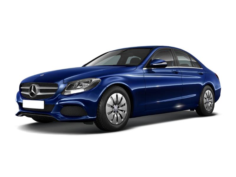 Новый авто Mercedes-Benz C-Класс, синий металлик, 2016 года выпуска, цена 2 450 000 руб. в автосалоне  ()