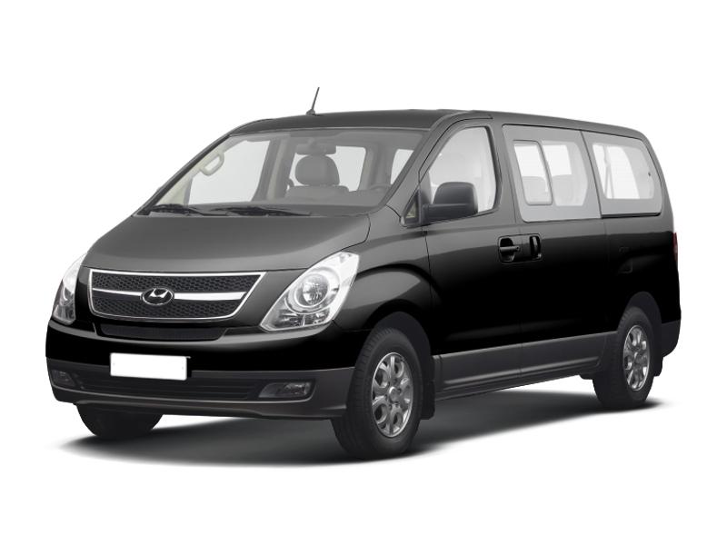 Подержанный Hyundai H-1, хорошее состояние, черный , 2008 года выпуска, цена 920 000 руб. в Смоленской области
