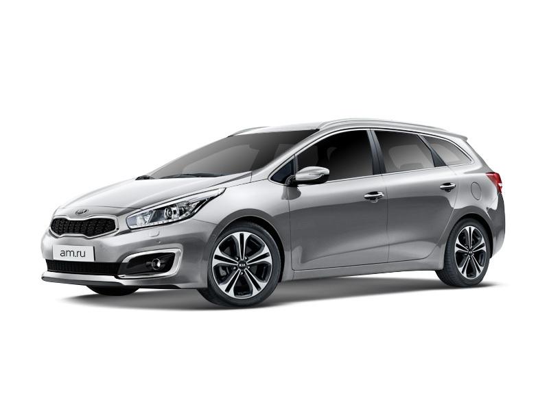 Новый авто Kia Cee'd, серебряный металлик, 2016 года выпуска, цена 1 009 900 руб. в автосалоне  ()