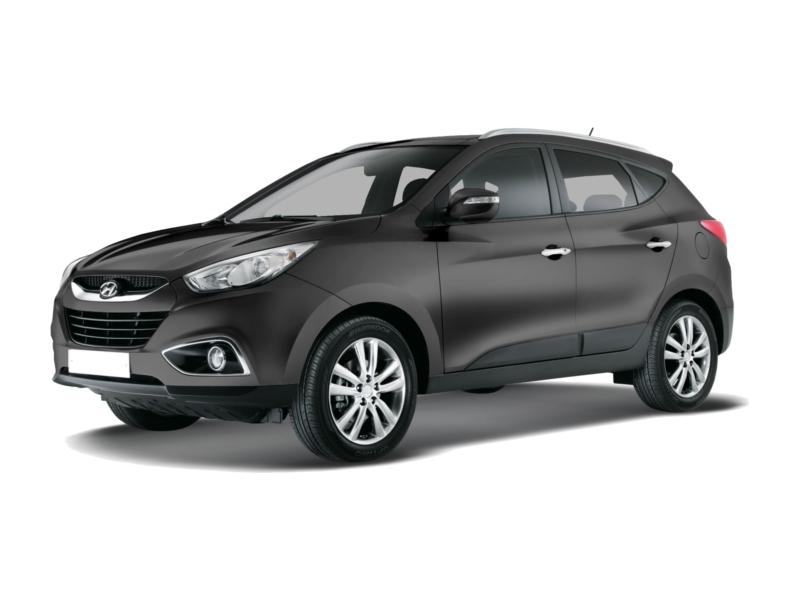 Подержанный Hyundai ix35, отличное состояние, черный , 2011 года выпуска, цена 760 000 руб. в ао. Ханты-Мансийском Автономном округе - Югре
