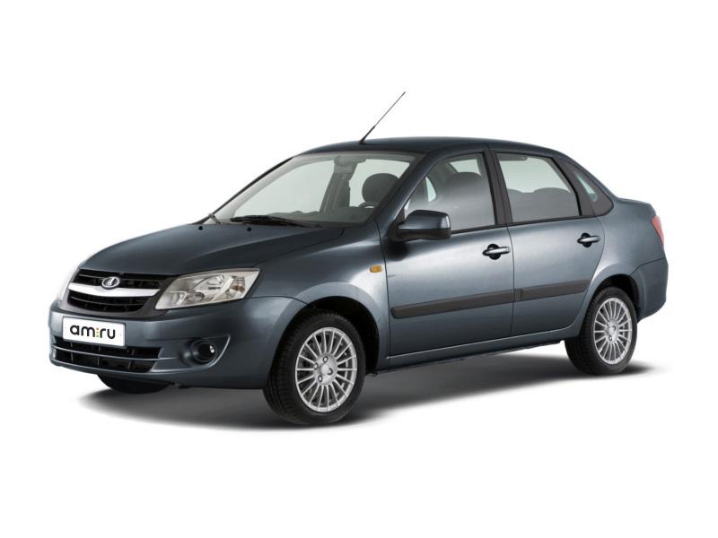 Новый авто ВАЗ (Lada) Granta, серый , 2016 года выпуска, цена 383 900 руб. в автосалоне  ()