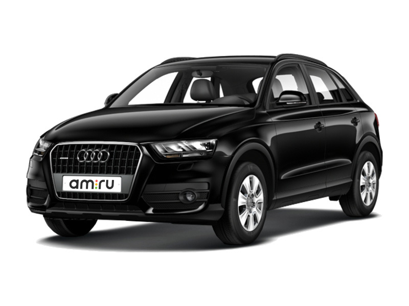 Подержанный Audi Q3, отличное состояние, черный перламутр, 2011 года выпуска, цена 1 300 000 руб. в ао. Ханты-Мансийском Автономном округе - Югре