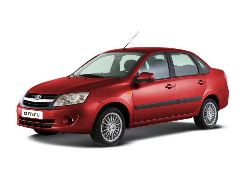 Новый авто ВАЗ (Lada) Granta, красный , 2016 года выпуска, цена 306 900 руб. в автосалоне  ()