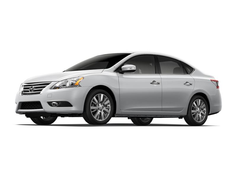 Подержанный Nissan Sentra, хорошее состояние, серебряный металлик, 2014 года выпуска, цена 920 000 руб. в ао. Ханты-Мансийском Автономном округе - Югре
