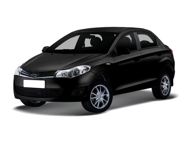 Подержанный Chery Bonus, отличное состояние, черный металлик, 2014 года выпуска, цена 360 000 руб. в республике Татарстане