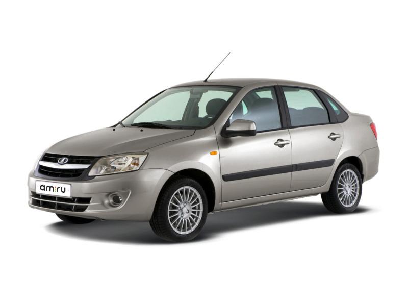 Новый авто ВАЗ (Lada) Granta, серебряный , 2016 года выпуска, цена 467 000 руб. в автосалоне  ()