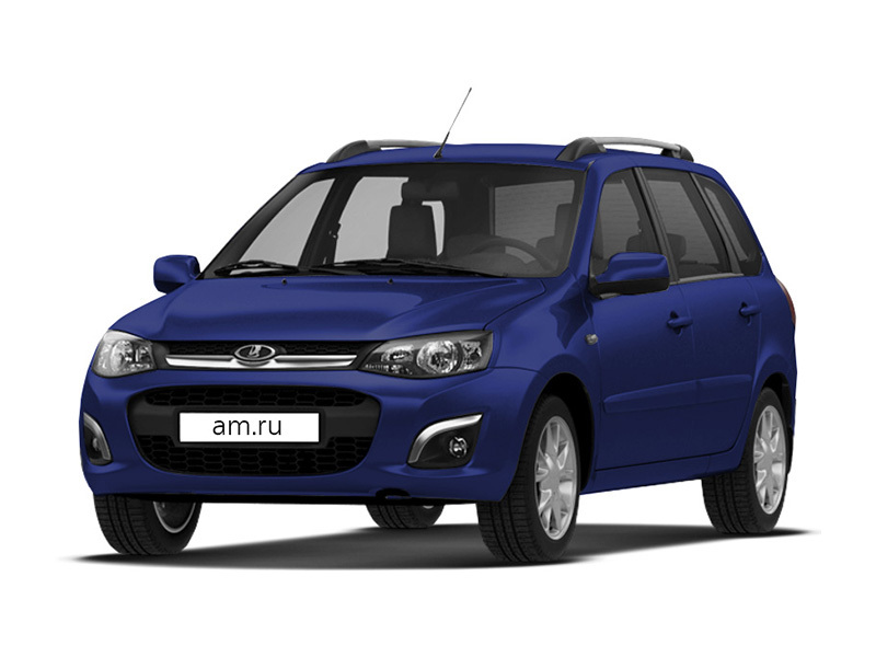 Новый авто ВАЗ (Lada) Kalina, синий , 2016 года выпуска, цена 447 500 руб. в автосалоне Бугач-Авто (Красноярск, ул. Калинина, д. 84А)