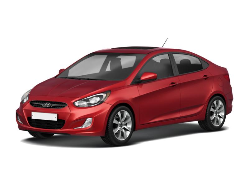 Подержанный Hyundai Solaris, отличное состояние, красный , 2012 года выпуска, цена 530 000 руб. в республике Татарстане