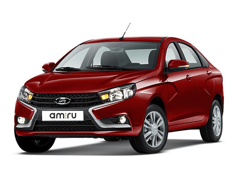 Новый авто ВАЗ (Lada) Vesta, красный , 2016 года выпуска, цена 606 000 руб. в автосалоне  ()