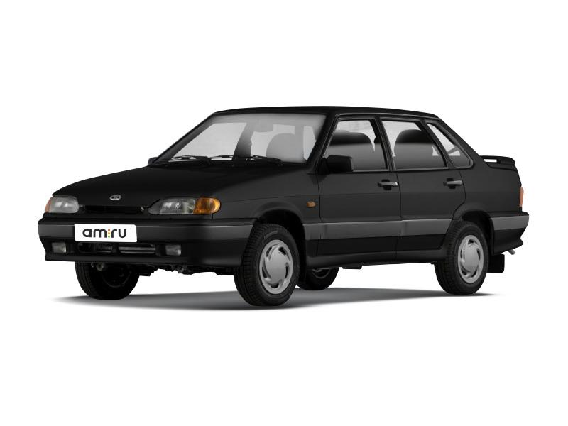 Подержанный ВАЗ (Lada) 2115, отличное состояние, черный , 2007 года выпуска, цена 120 000 руб. в Челябинской области
