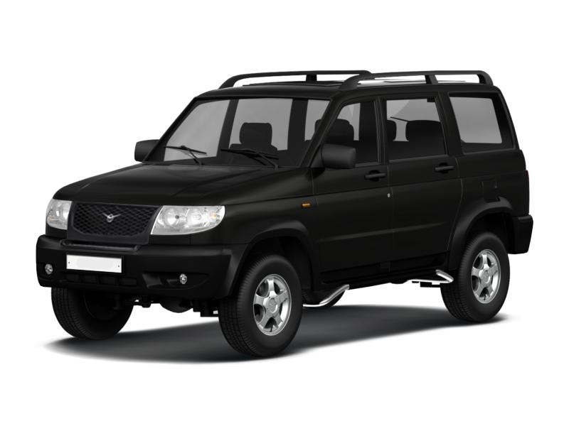 Подержанный УАЗ Patriot, отличное состояние, черный , 2012 года выпуска, цена 450 000 руб. в Челябинской области