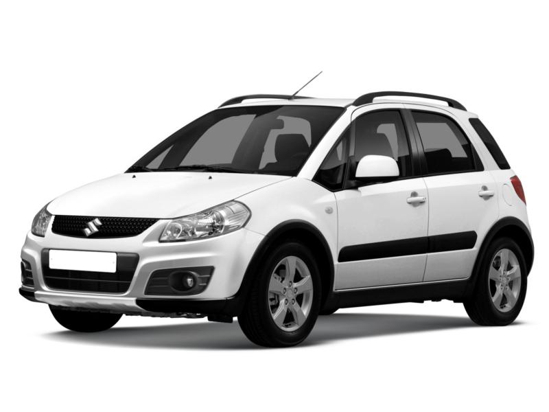 Подержанный Suzuki SX4, хорошее состояние, белый , 2011 года выпуска, цена 580 000 руб. в Челябинской области