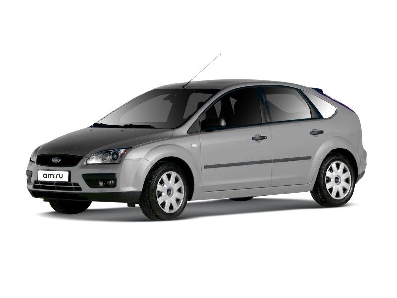 Подержанный Ford Focus, хорошее состояние, серебряный металлик, 2006 года выпуска, цена 290 000 руб. в ао. Ханты-Мансийском Автономном округе - Югре