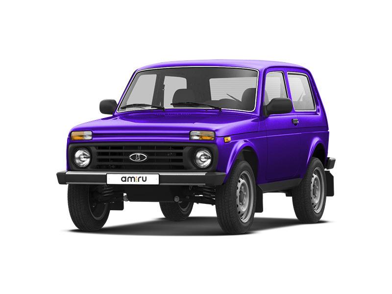 Новый авто ВАЗ (Lada) 4x4, фиолетовый , 2016 года выпуска, цена 435 700 руб. в автосалоне  ()
