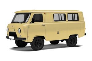 Автомобиль УАЗ 39625, среднее состояние, 2004 года выпуска, цена 99 000 руб., Архангельск